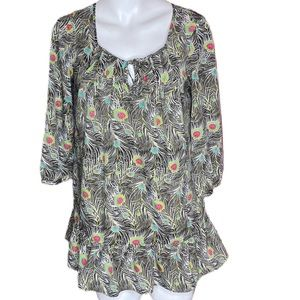 Liberty Of London Target Isis Feather Blouse